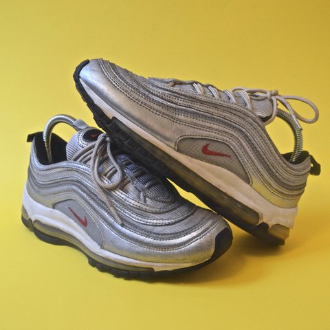 7abf394347164 @vitalvintagegoods. last year. Tracy, United States. Nike Air Max 97 OG QS  Silver Bullet ...
