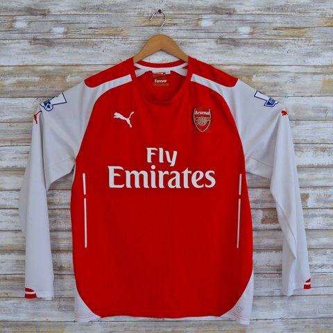 8316fb0e1 @vitalvintagegoods. last year. Tracy, United States. Arsenal Home Jersey  #17 Alexis Sanchez ...