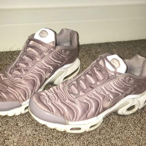 10244777bd NIKE TN satin baby pink, good condition. Satin is perfect x - Depop: