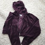 8f16cd85 Purple Nike hoodie with navy and yellow patched swoosh. • - Depop