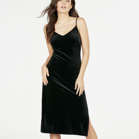 130046df333b black velvet midi dress – Little Black Dress | Black Lace Bridesmaid ...