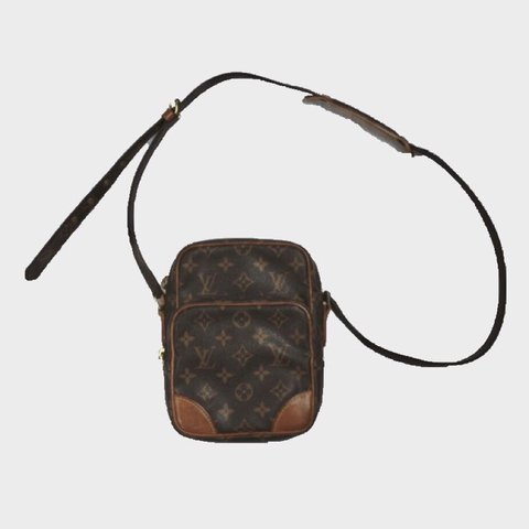 cc2d47d98c53 Louis Vuitton monogram Amazon side bag. Shoulder bag cross - Depop