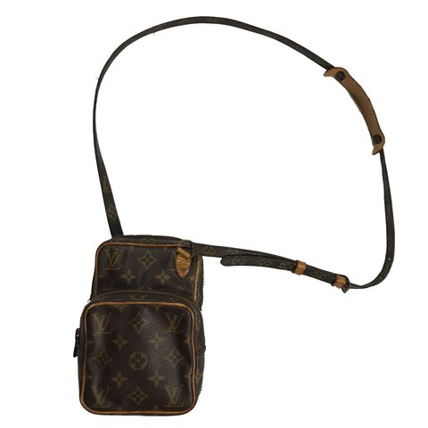 e1b89af8a03f Louis Vuitton monogram mini Amazon crossbody shoulder bag. a - Depop