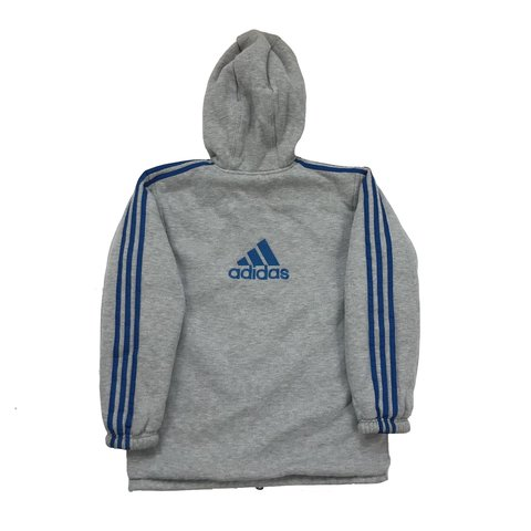 cb7223af5 @crispyclothing. 16 hours ago. Edinburgh, United Kingdom. Reversible Adidas  jacket jumper hoodie. Sweatshirt coat.