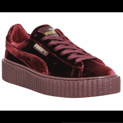d1173c11d2dafc Selling these fenty puma velvet creepers. I only wore them - Depop
