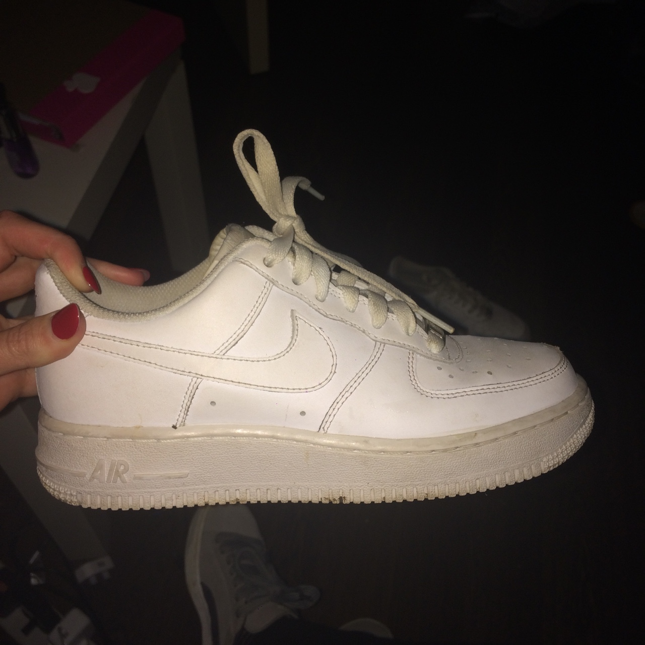 air force ones size 4
