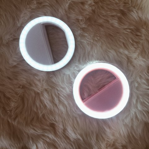96b69a19c0c @maharlikandoll. last year. Naas, Ireland. Baby Pink (Baby Pink) Clip on  Selfie Ring Light ...