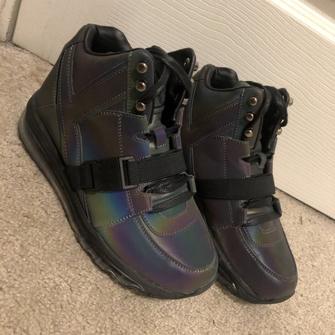 6bc73278a2f YRU QOZMO AiiRE- REFLECTIVE. these shoes were purchased and - Depop