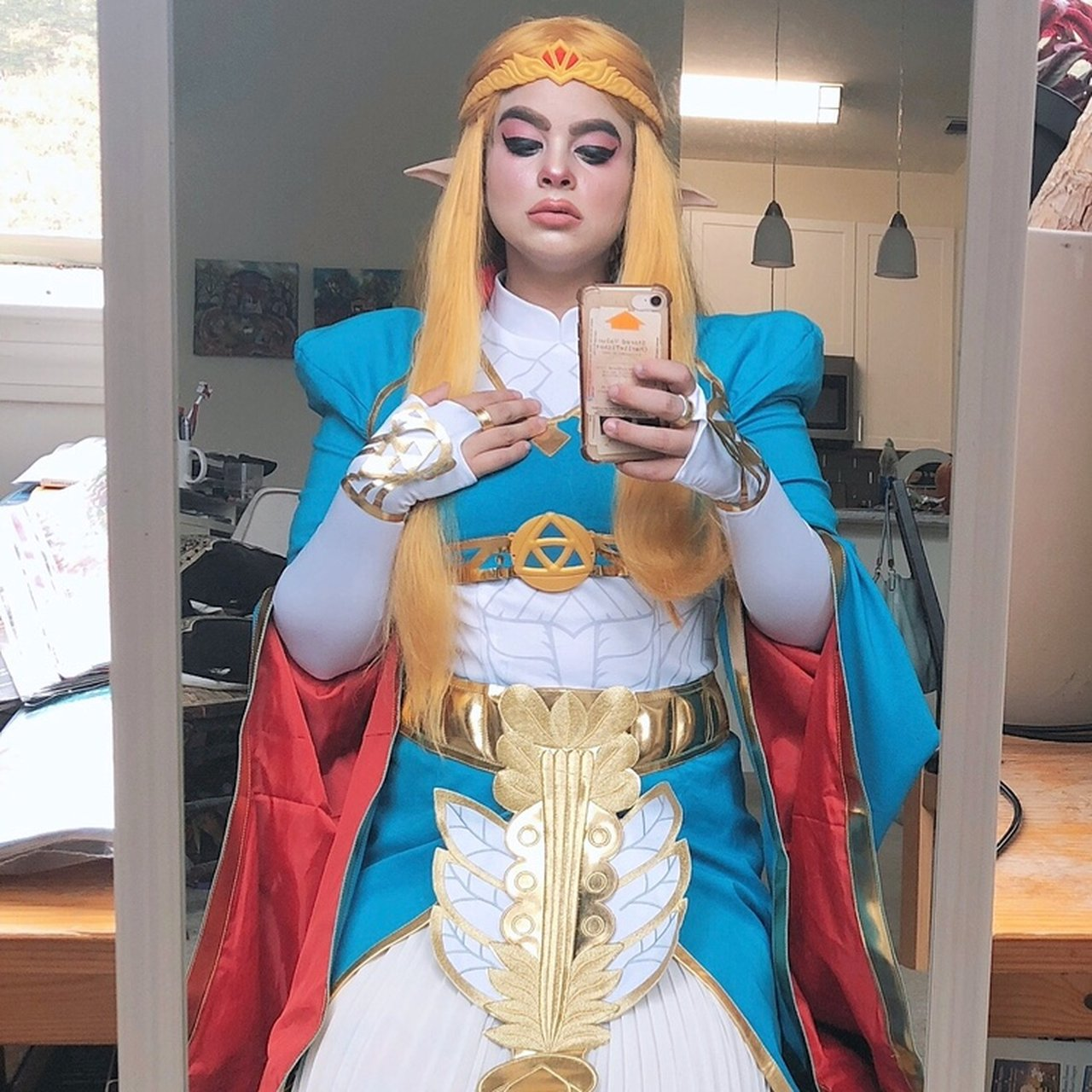Princess Zelda Breath Of The Wild Cosplay Im Selling The Or Depop