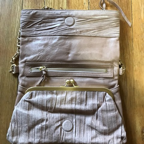 3eeb850f3b CLEARANCE Blush pink genuine leather purse. Can double as a - Depop