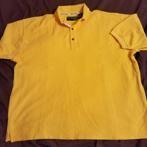 55de698f @ditc1994. last year. Bay City, Matagorda County, United States. VTG 90s  Pelle Pelle polo shirt. Crazy design ...