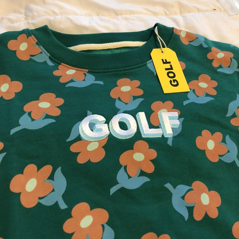 1fdcf1424999 GOLF WANG FIND SOME TIME CREWNECK SWEATER brand new with out - Depop