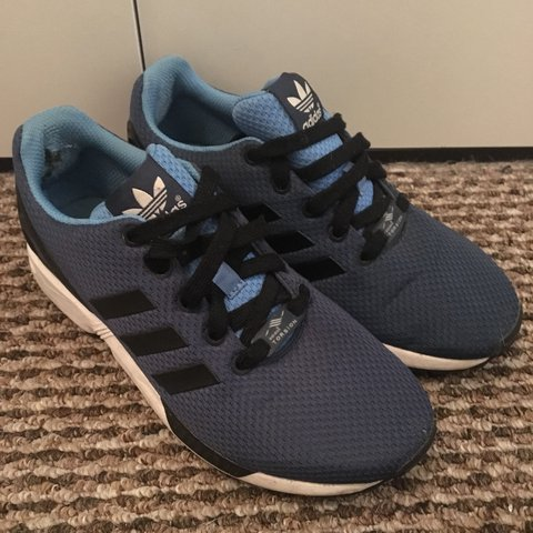 df1ab1b30f4b0 WILL ACCEPT OFFERS FOR THESE!! Light and dark blue Adidas a - Depop