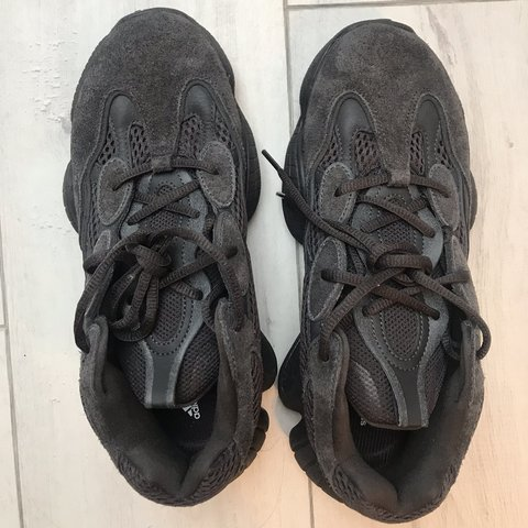d66fa4ca009c0 Adidas Yeezy 500 Utility Black. Never worn but unfortunately - Depop