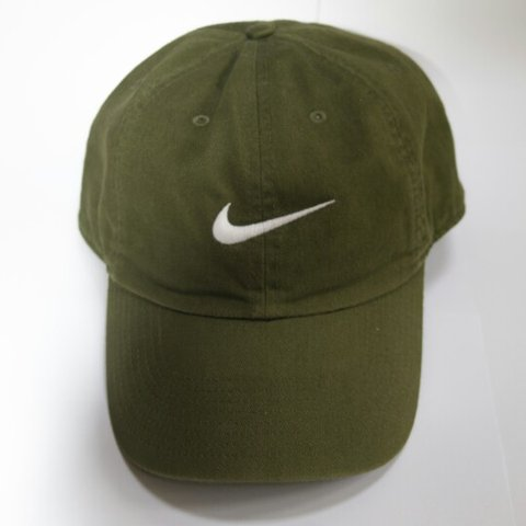 Nike cap. Dad hat. Khaki army green One size a few times. - Depop e3fbc29fbd0e