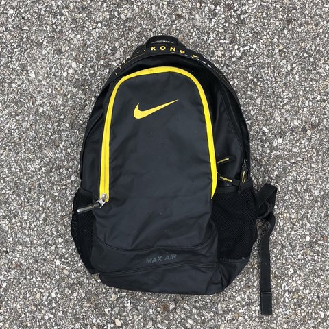vintage nike livestrong backpack - some stains and small on - Depop 7e7a23ba911b7