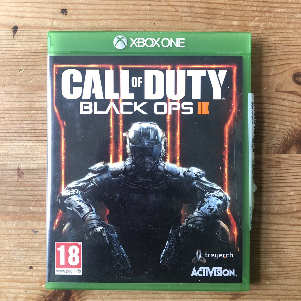 Xbox One Call Of Duty Black Ops 3 No Scratches Depop