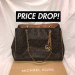 ad73e37b313ec1 Michael Kors crossbody bag styled. $210 · 100% AUTHENTIC MICHAEL KORS  Retails for $398.00