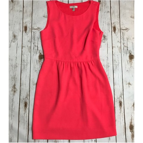 b199ab1f89  madison2000. 7 months ago. United States. J. Crew bright coral Camille  dress.