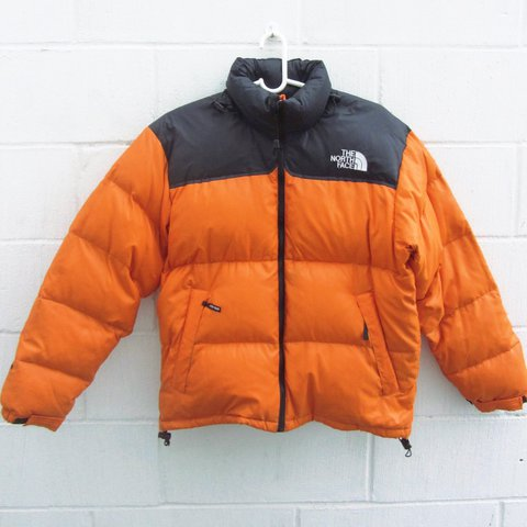 ec15b9860f 🔶 The North Face 700 Nuptse Goose Down Tangerine Orange   V - Depop