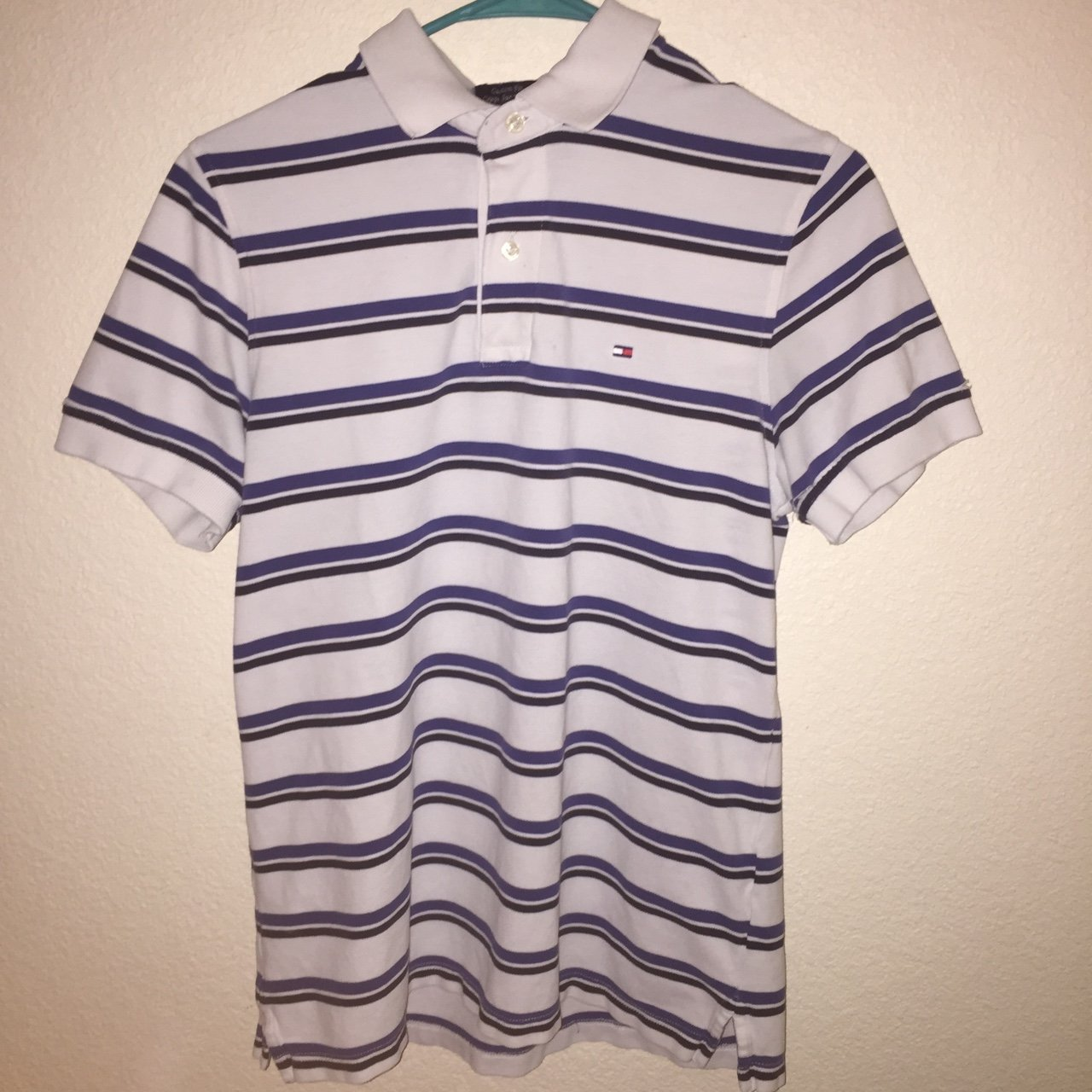 8a0ed2708b4 Blue and Black Striped Tommy