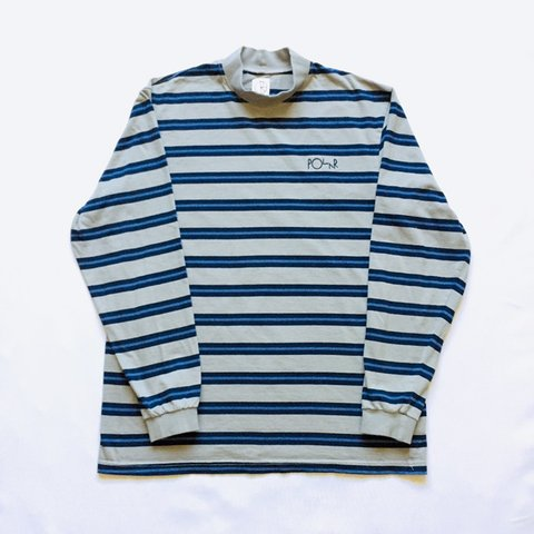 9953b25fc8 @calidadgoods. 7 months ago. Lincoln, United States. Polar Skate Co. Striped  Turtle Neck Long Sleeve Shirt