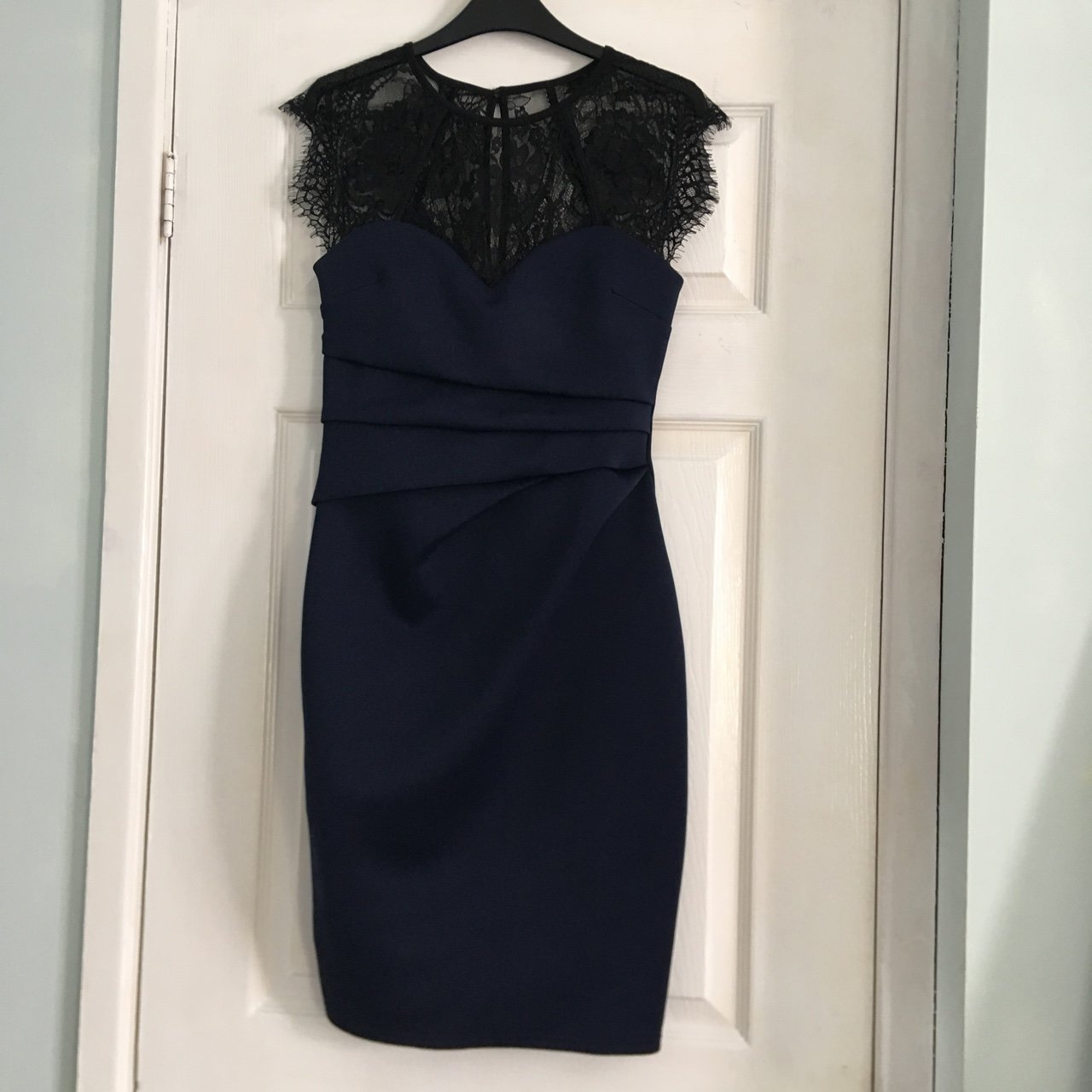 a6aa460dab Lipsy occasion dress in navy