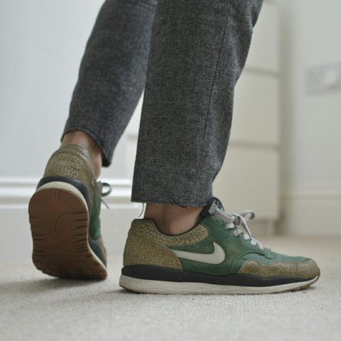 98980fc66028 Nike Air Safari Vintage - Gorge Green - Granite - Bamboo - - Depop