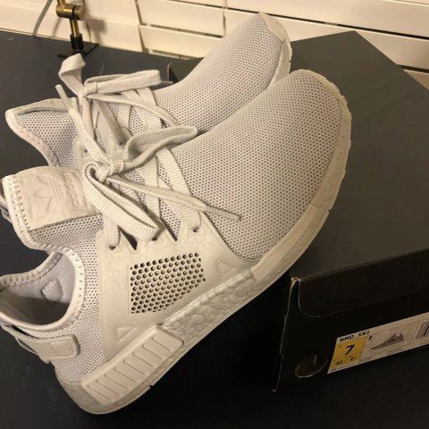 2eeeb38c64be3 Adidas NMD XR1 Worn only once. Like new. Look at pictures 7 - Depop