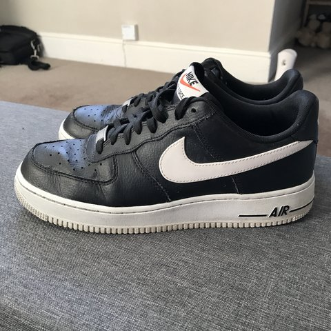 promo code 9d93b 108be  natasyaovialund. last month. Nottingham, United Kingdom. Nike Air Force 1.  Black with white tick.