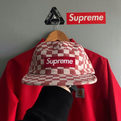 46be3d7bb30de  cracked. 3 months ago. United Kingdom. Supreme Checked 5 Panel Camp Hat.