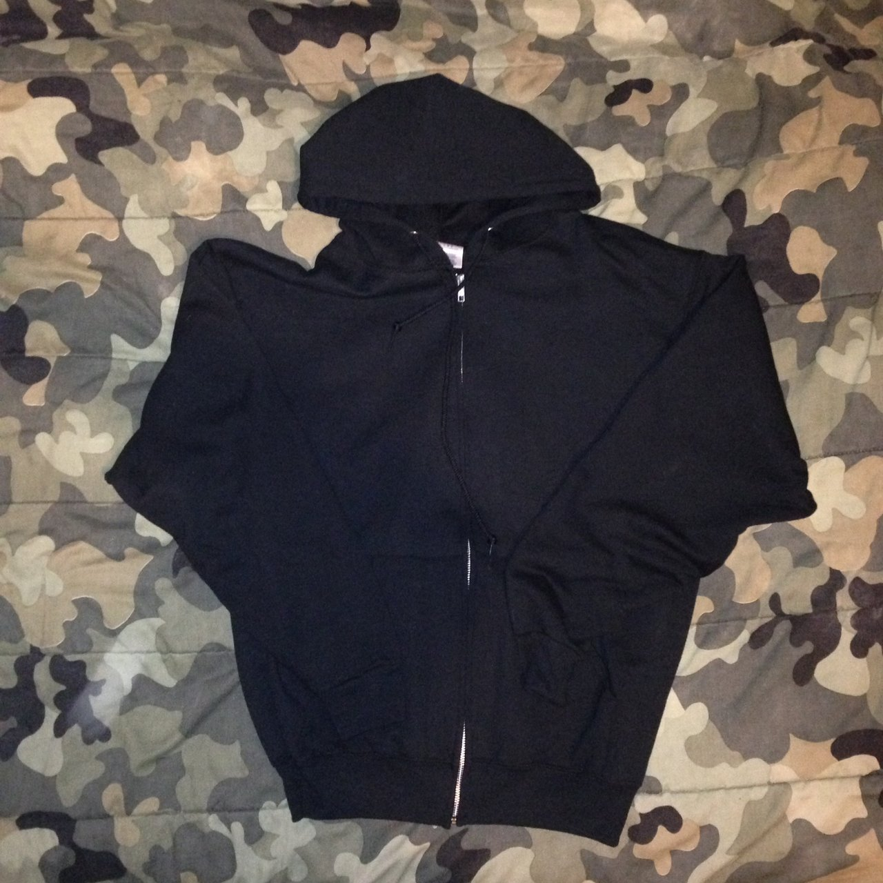 Jer Zees blank black hoodie. Slightly worn. Almost good as a - Depop d1f6b7f77bfd