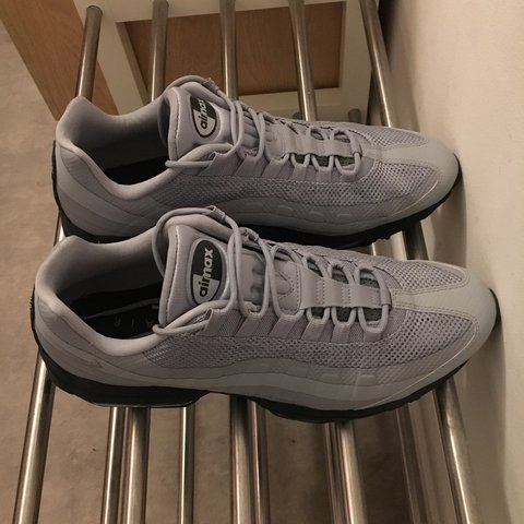5174a906c6 @camhill_. last year. Higher Kinnerton, United Kingdom. Nike Air Max 95  Ultra Essential Trainer Cool Grey / Anthracite