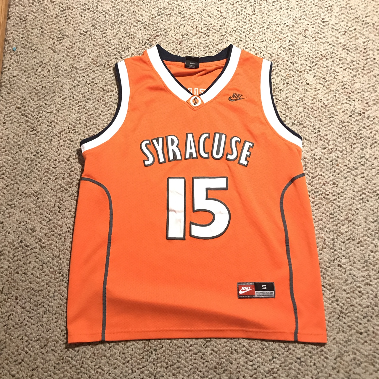 new concept 5c537 40cfd Vintage Carmelo Anthony Syracuse jersey. 7/10... - Depop