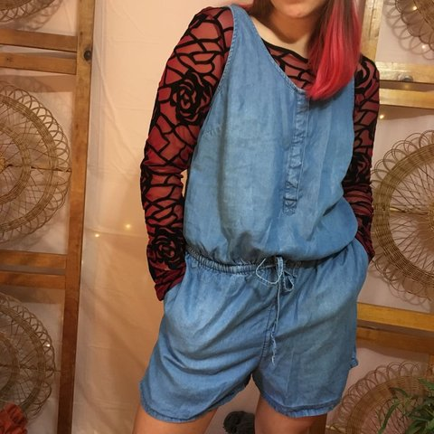 78aa59e307d1 Adorable chambray romper ☆ in great condition