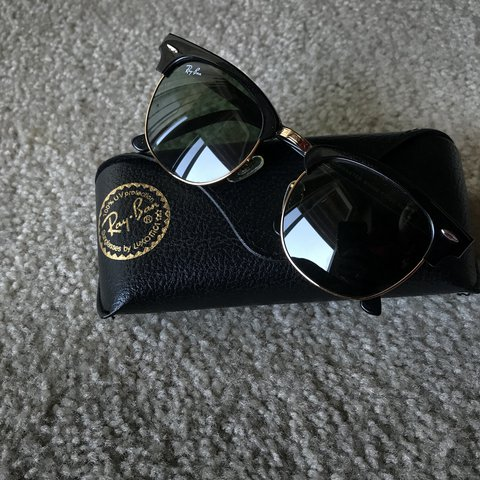 2f1bebf3f68 🖤Authentic Ray Ban Clubmaster Sunglasses🖤 Love these but - Depop