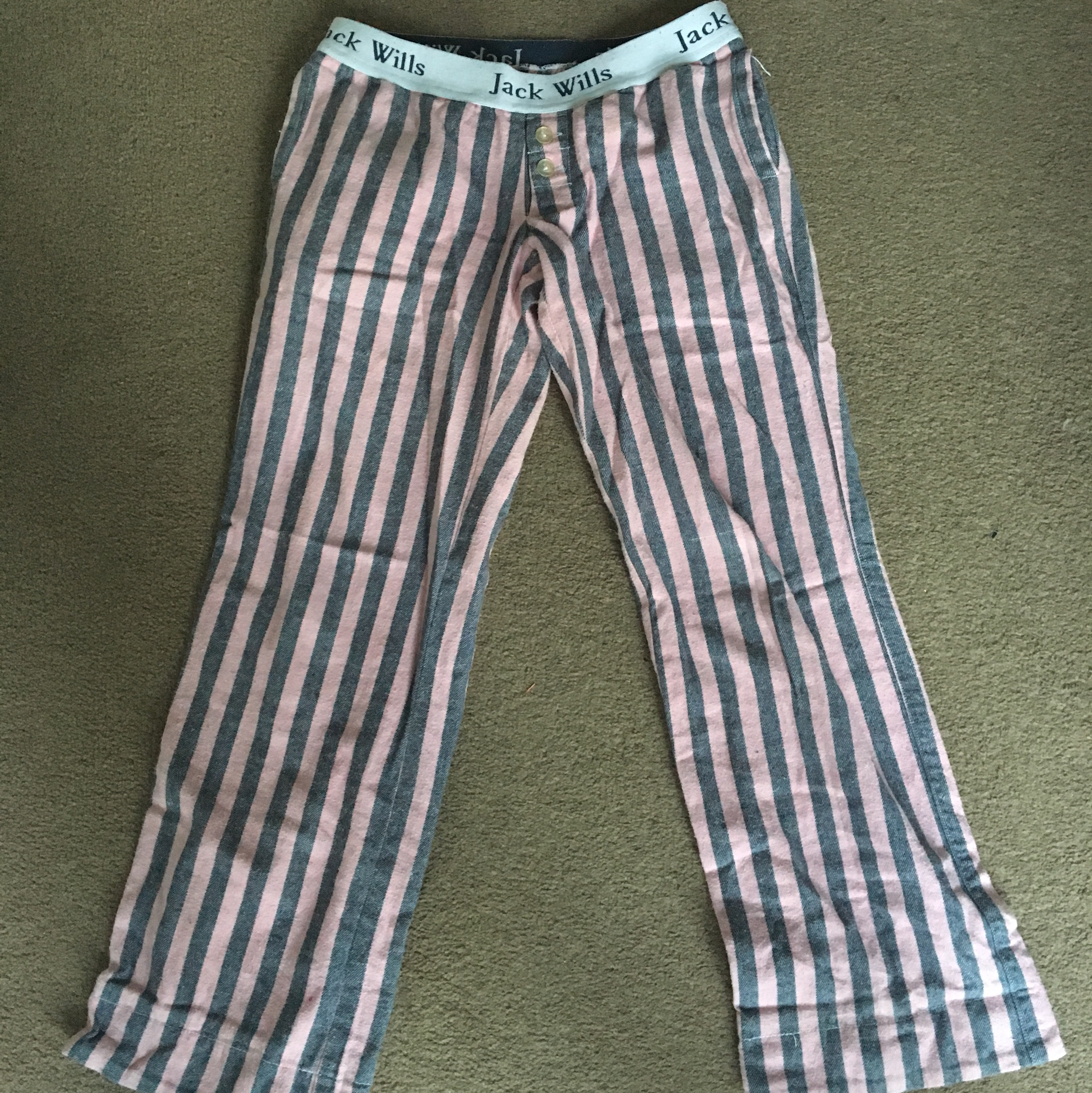 many choices of new season customers first Jack Wills pyjama bottoms with travel bag Size 8 - Depop