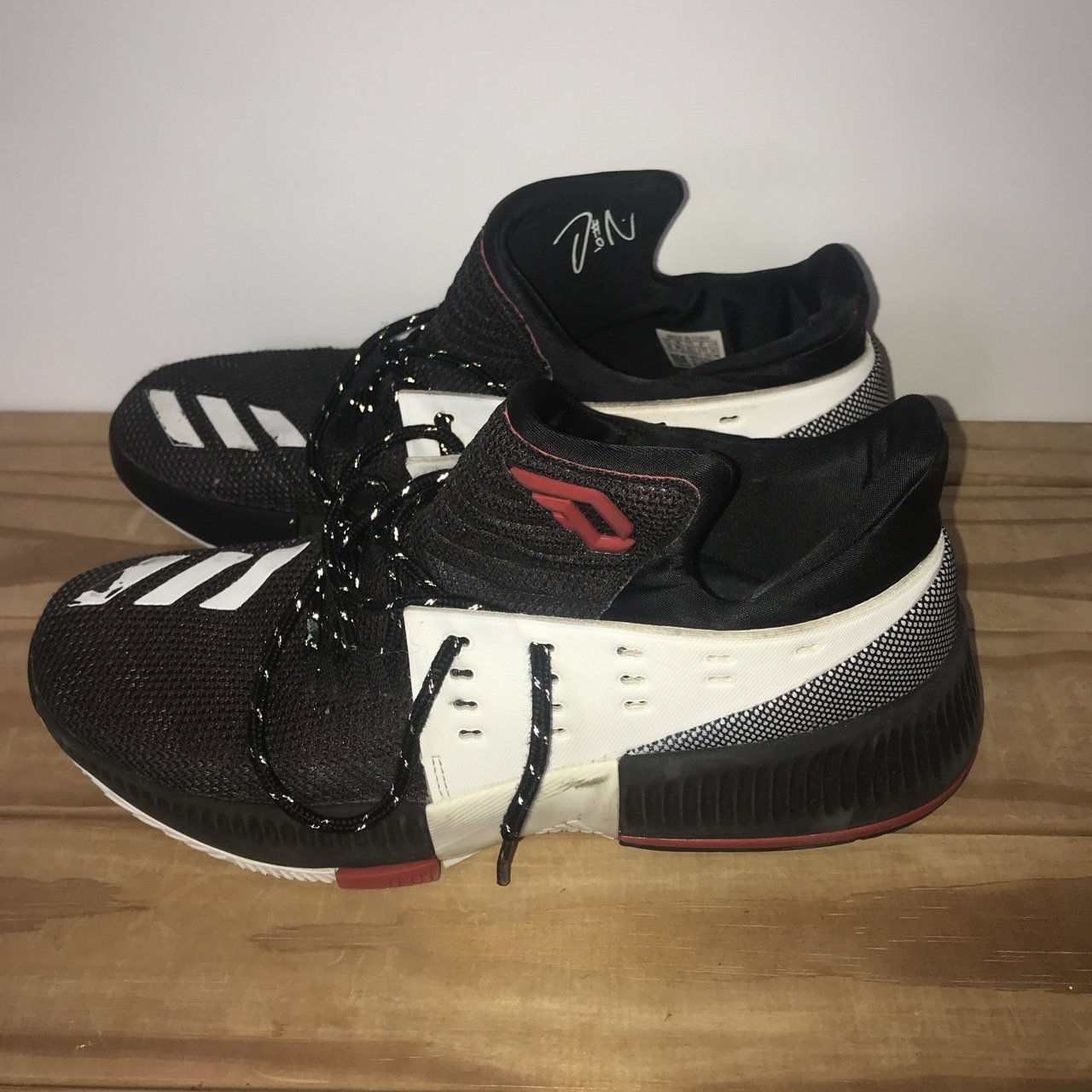 Dame 3s. Basketball Shoe. Size 8.5 UK £10 MESSAGE ME BEFORE - Depop f5133bac2