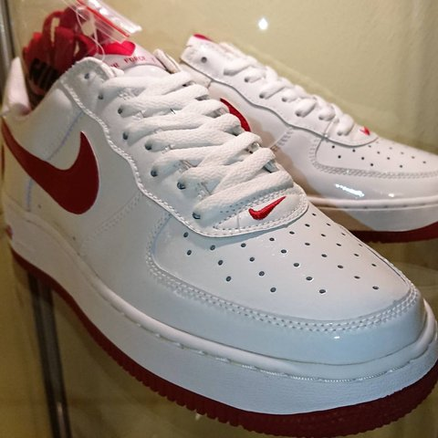 Rare Nike Air Force 1 Valentine S Day 100 2004 Size Wmns Depop