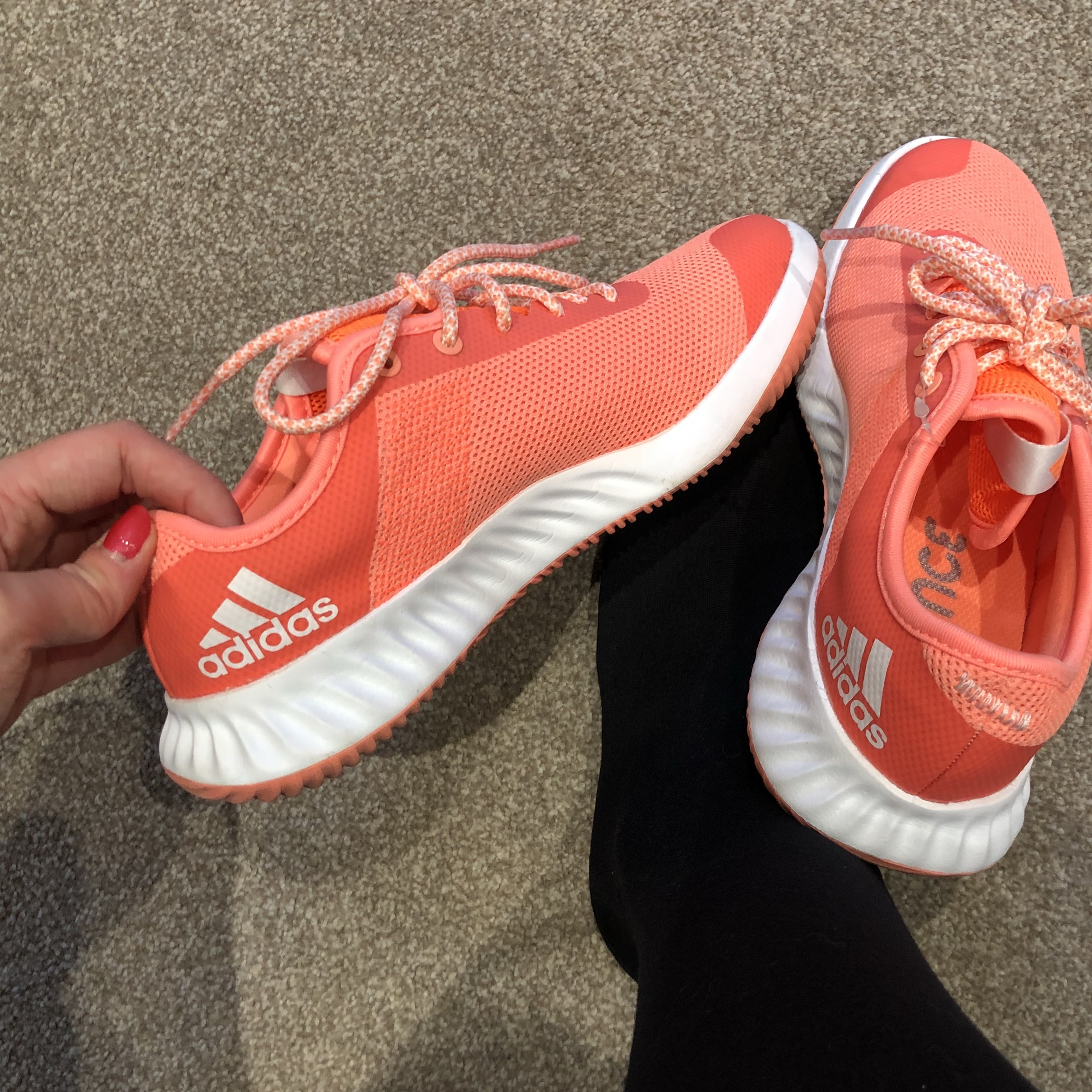 adidas bounce trainers