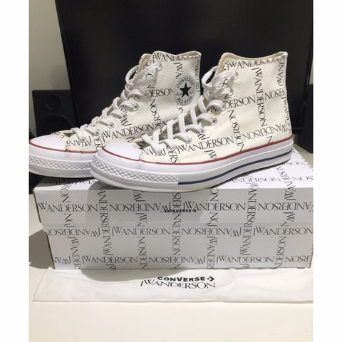 93879340a37b Converse x JW Anderson All Star Hi 70s • Size 9 UK (11 Worn - Depop