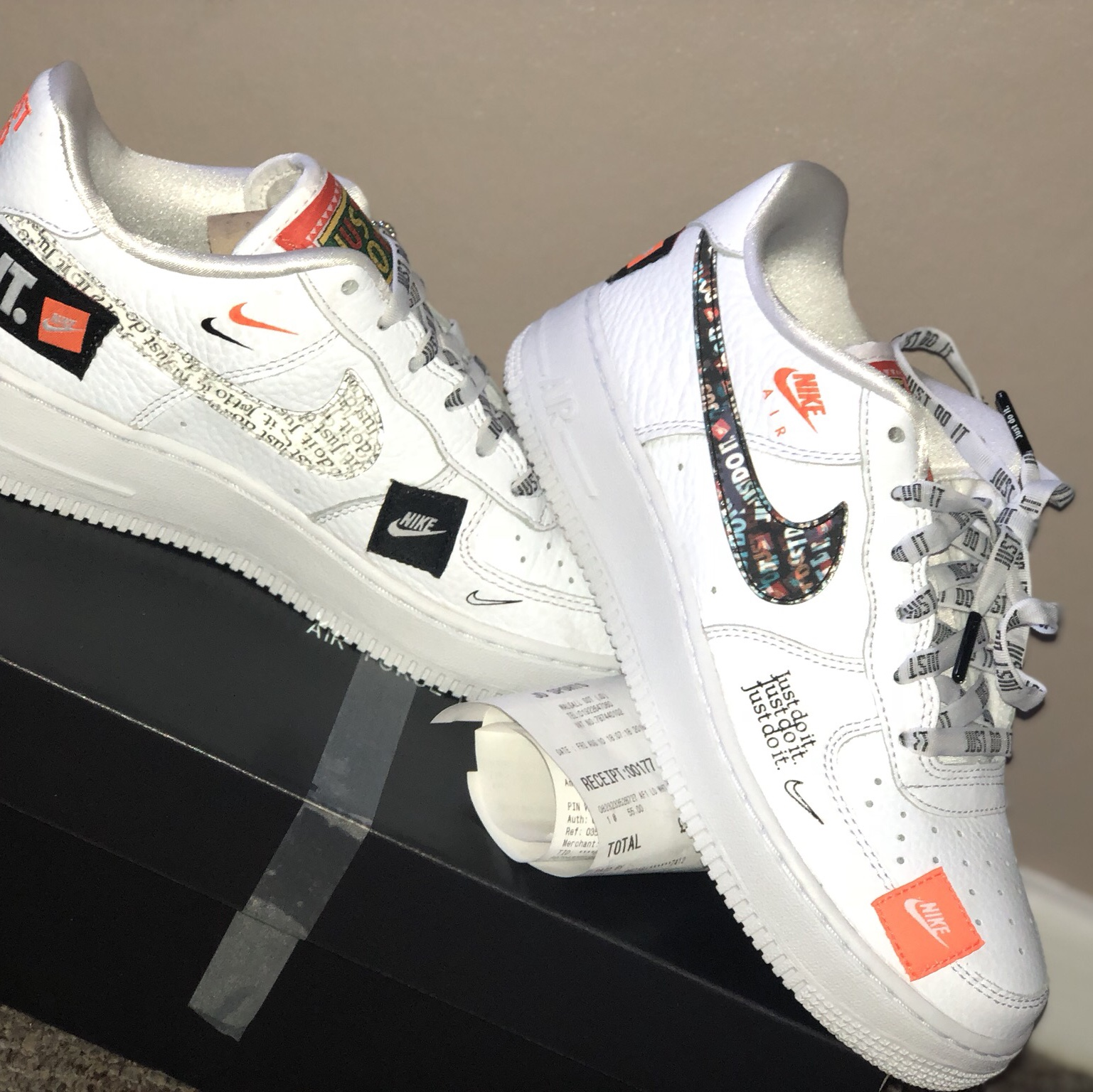 Nike air Force 1 limited edition just