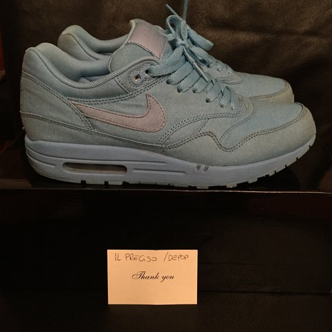 2bf1cafc25 Nike Air Max 1 one attack pack baby blue, used great box, US - Depop