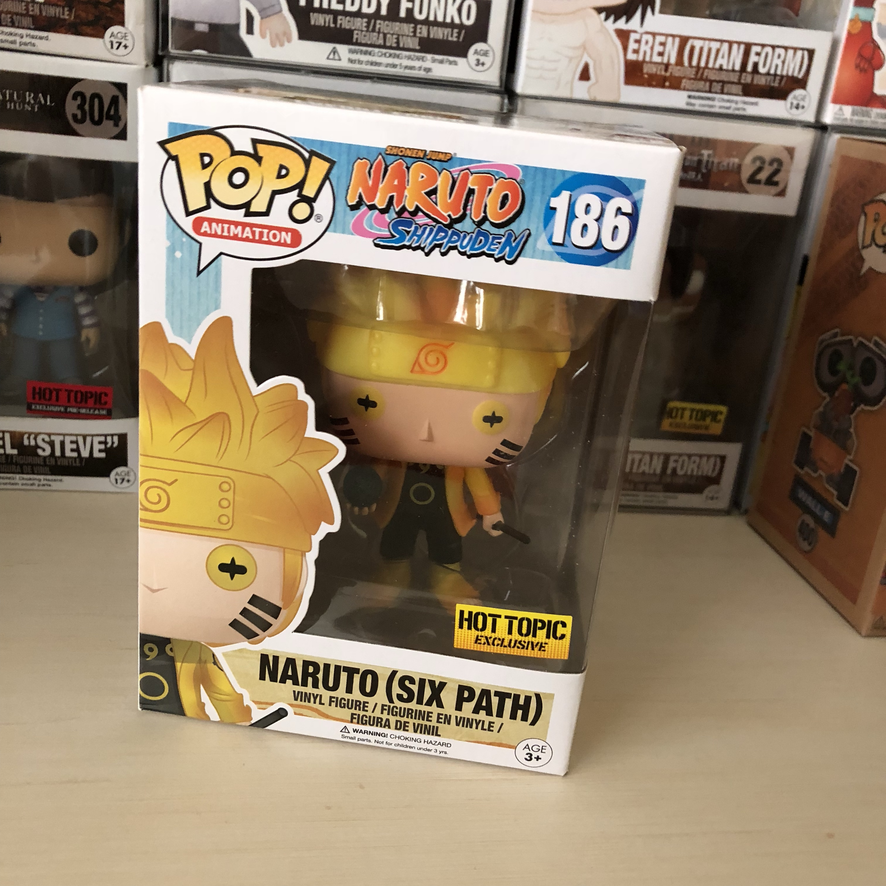 Naruto six path Funko Pop All toys and cards come    - Depop