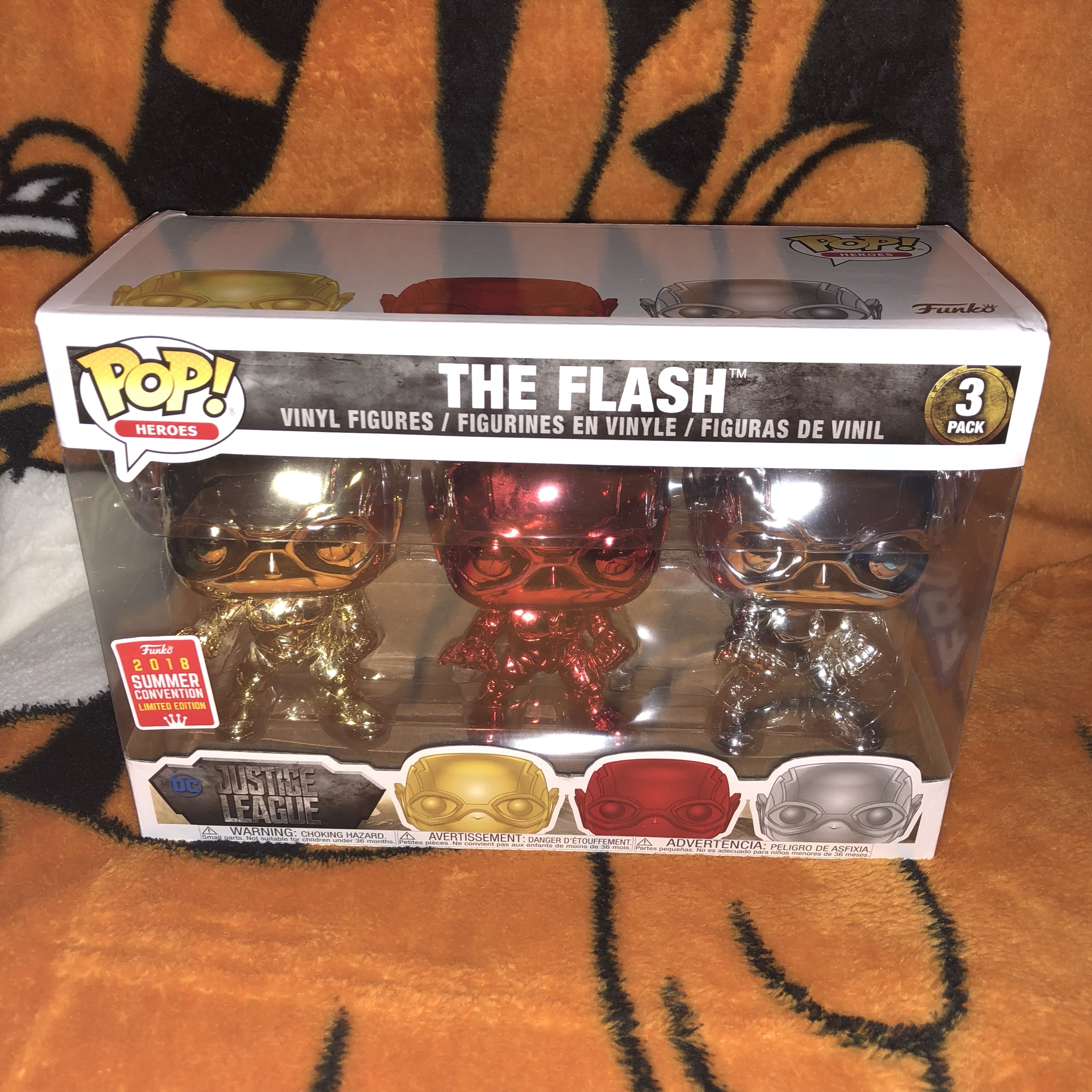 Shared exclusive flash 3 pack Funko pop All items    - Depop