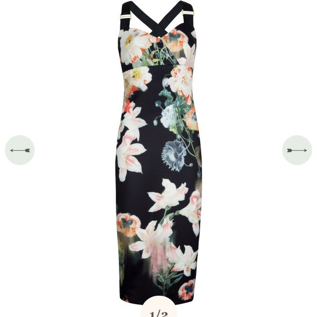 487788382 Ted Baker dress size 1 uk 8 brand new with tags in box. Paid - Depop