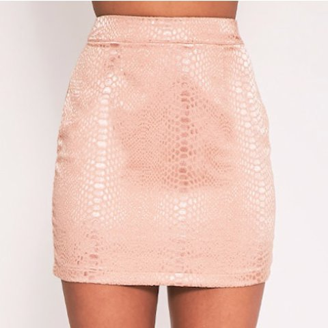 Skirts Just Peach Mini Skirt Clothing, Shoes & Accessories