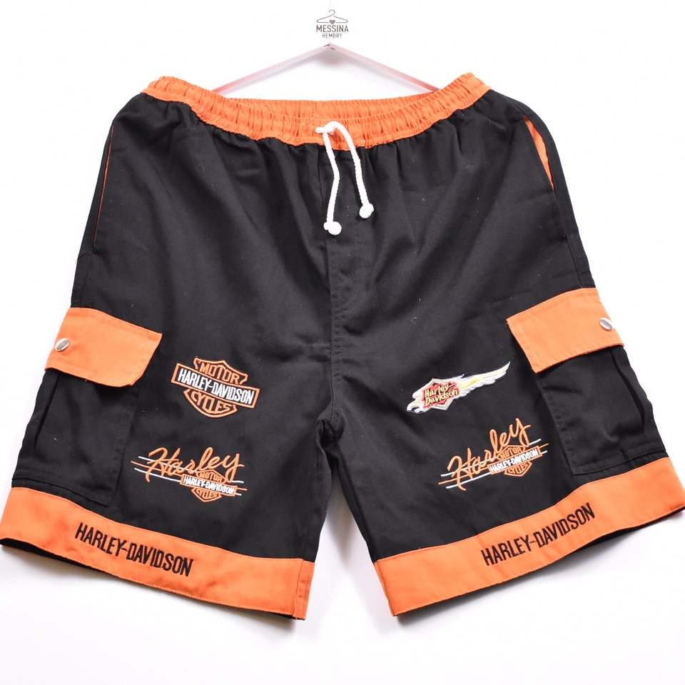 Motorcycle Harley Fans Men/'s Shorts Size S-3XL #4014