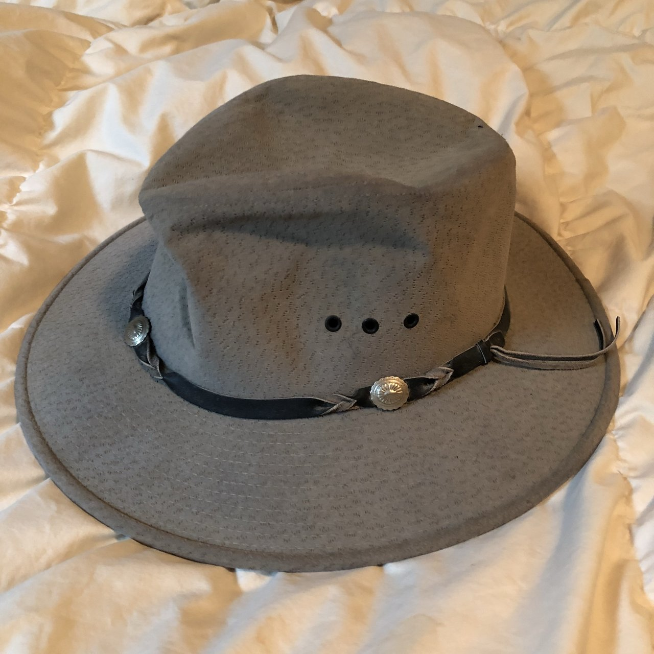 2d7db799119 Bailey vintage sun style cowboy hat This fit when I had hair - Depop