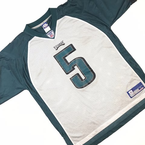 652c510273a @vtgla. 28 days ago. Los Angeles, United States. ➡ White + Green Men's Reebok  Donovan McNabb #5 Jersey Philadelphia Eagles
